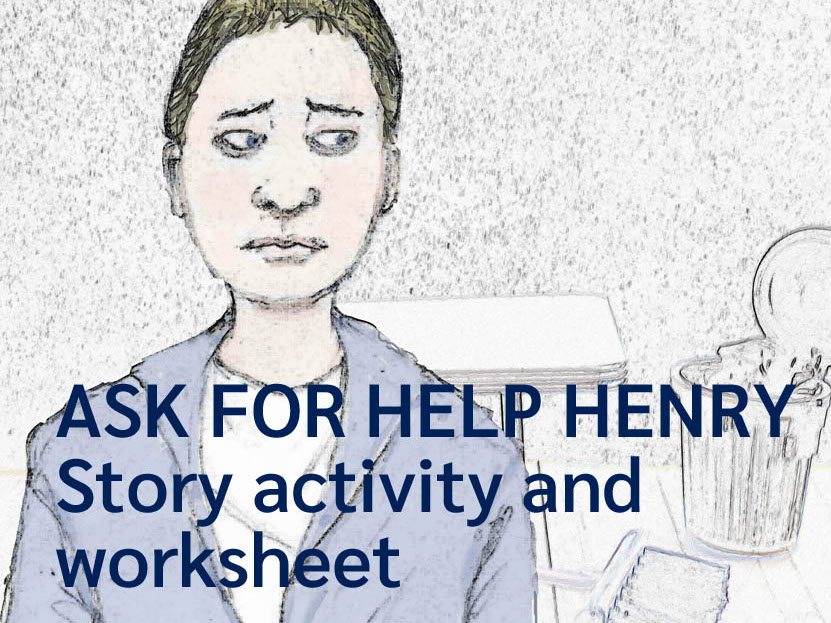 Ask for Help Henry - story activity  and lesson (US)
