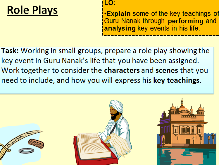 Guru Nanak: Teachings Through Performance. 5 Plays.