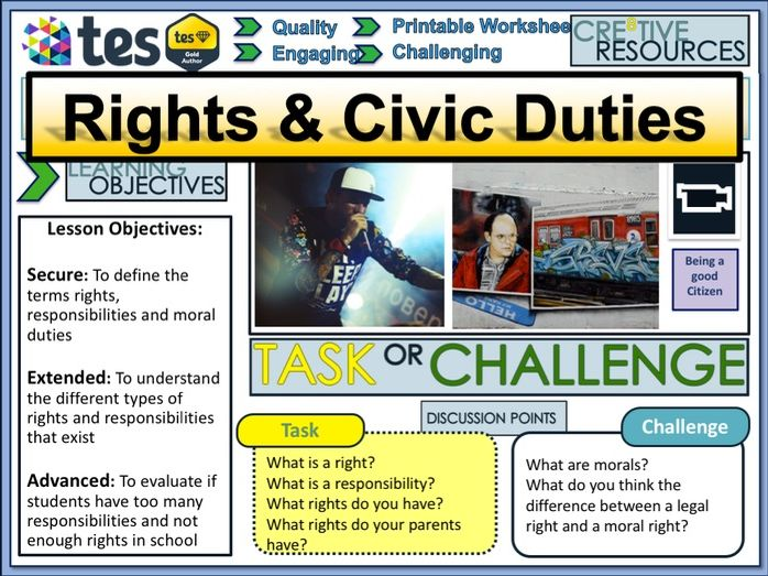 Rights Responsibilities & Civic Duties