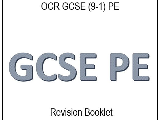 GCSE (9-1) Physical Education Revision Guide  - OCR Exam Board