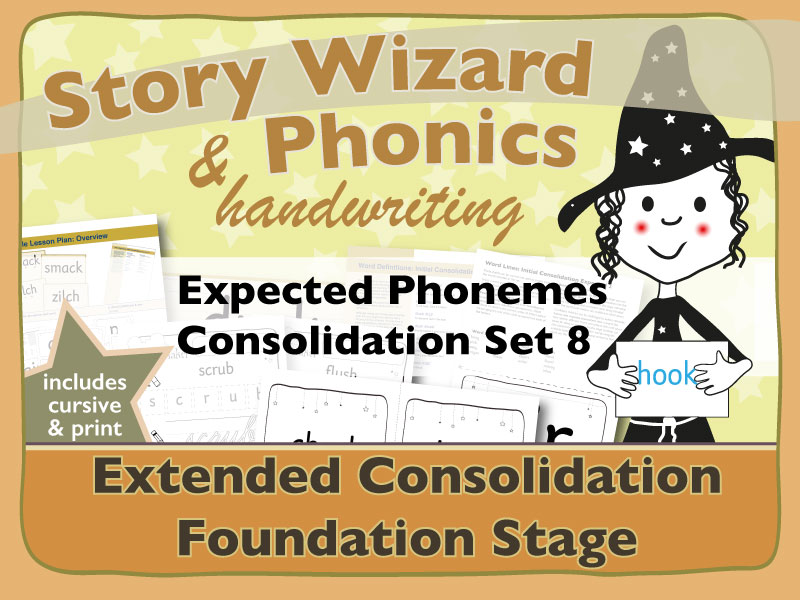Extended Phonics Consolidation Set 8