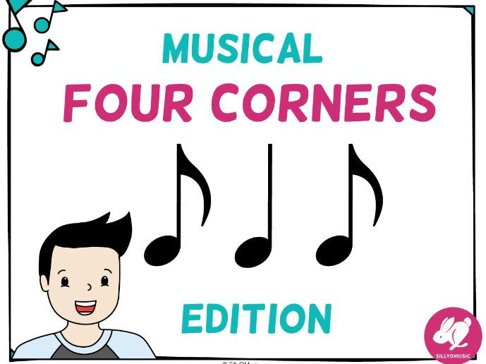Musical Four Corners, Syncopa Rhythm Game (Stick & Standard Bundle)