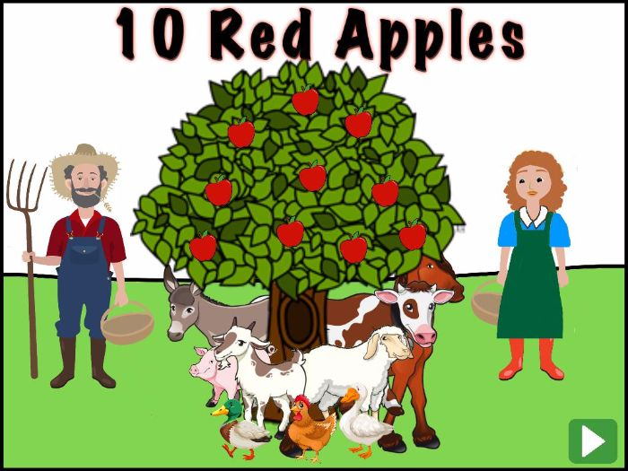 10 Red Apples Book Adaptation:ActivInspire