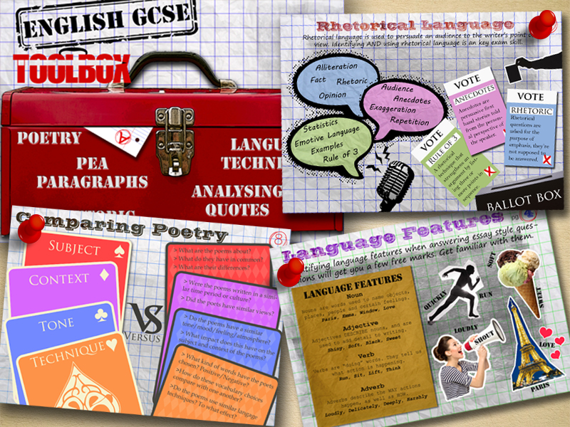 KS4 English GCSE Revision Toolbox