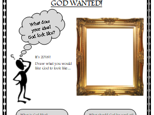 Job Spec for God, Year 3 RE