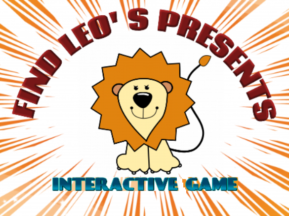 Find Leo' s birthday presents INTERACTIVE GAME