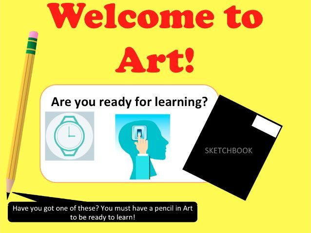 Introductory lesson to Art - KS3