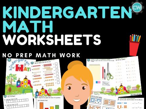Preschool / Kindergarten Math Worksheets