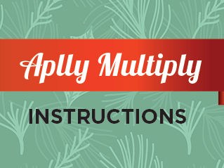 FREE Colorful Printable Christmas Multiplication Game - APPLY MULTIPLY