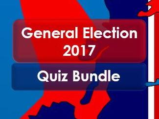 General Election 2017 Quiz (Bundle)
