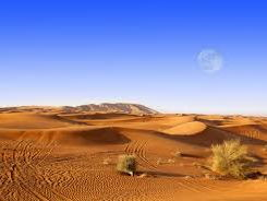 Deserts - location and climate