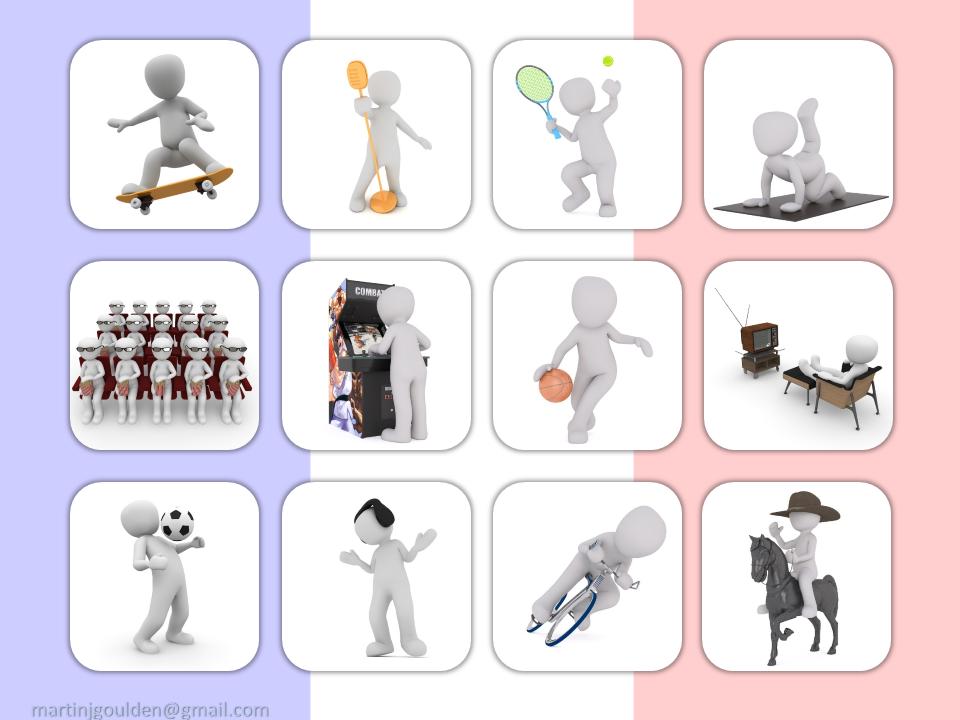 Spanish Hobbies - PowerPoint Game - KS1/KS2/KS3