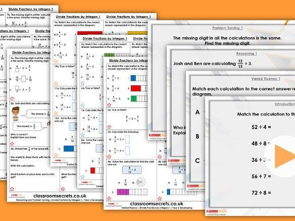 Year 5/6 Mixed Age Spring Block 1 Step 19 Lesson Pack