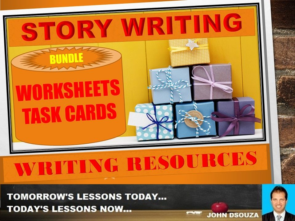STORY WRITING TASK CARDS BUNDLE