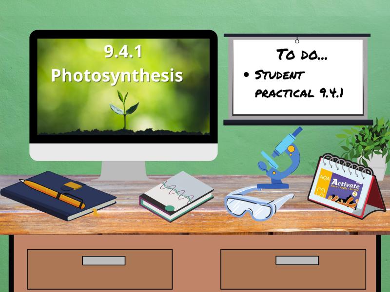 9.4.1 Photosynthesis (AQA KS3 Activate 2)