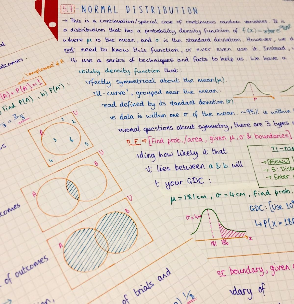 IB Maths HL - Complete Notes