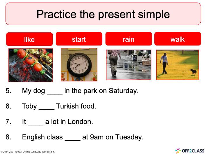 Present Simple Tense -  ESL/ELL Lesson plan