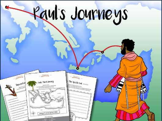 Paul the Apostle Bible Activity Book
