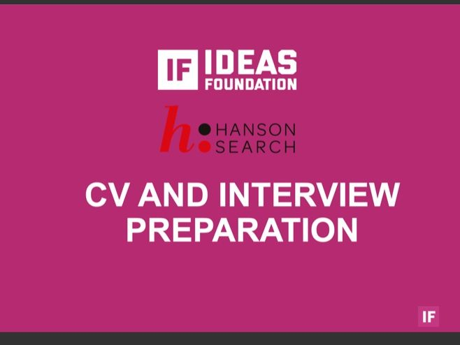 CV and Interview Preparation