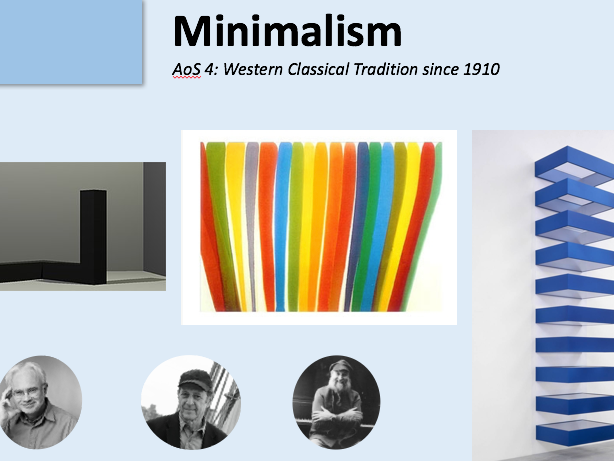 KS4: Minimalism Wider Listening & Research (GCSE Music 9-1)