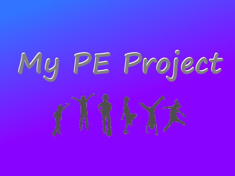 PE @ Home Sport Project   Fitness   Primary [KS2]