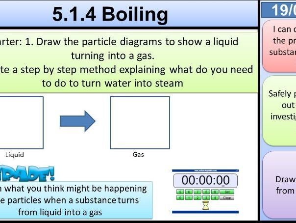 Boiling States of Matter KS3 Activate