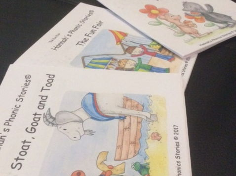 Hannah's Phonics Stories; Phase 3 bundle