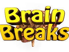 a set of brain breaks, physical breaks for ESL LEARNERS