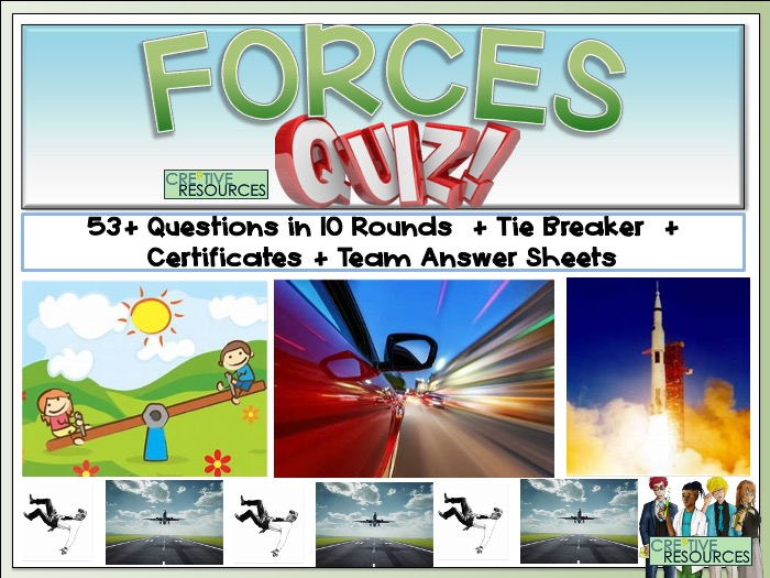 Forces Science Quiz