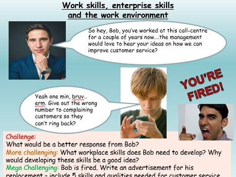 Workplace skills - Enterprise - Careers