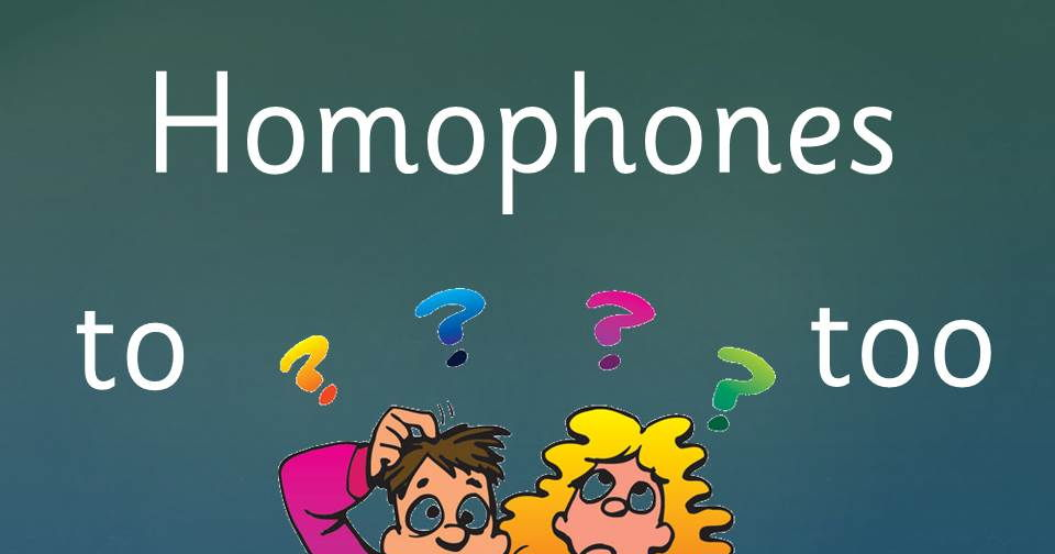 Homophones and Homonyms:  Lesson and follow up worksheets