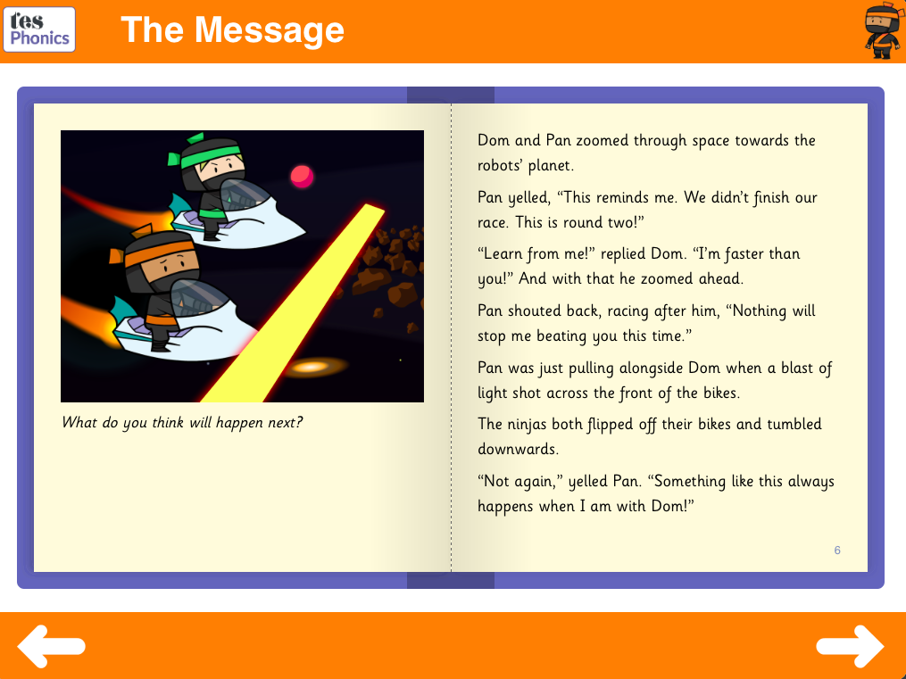 The Message Reading Book - Phase 5