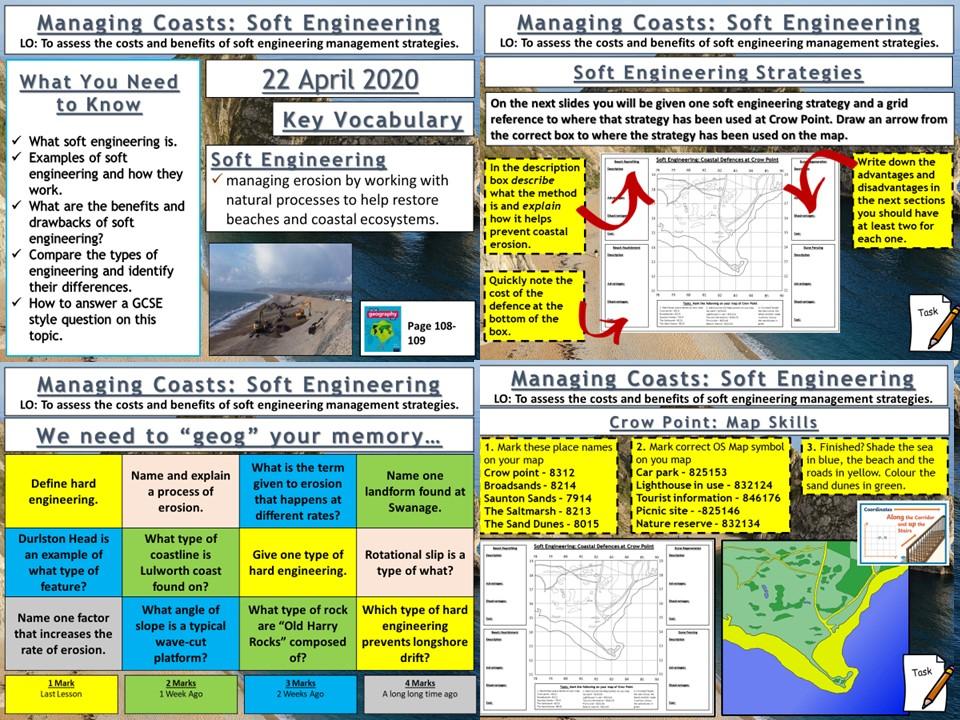 Coasts: Soft Engineering