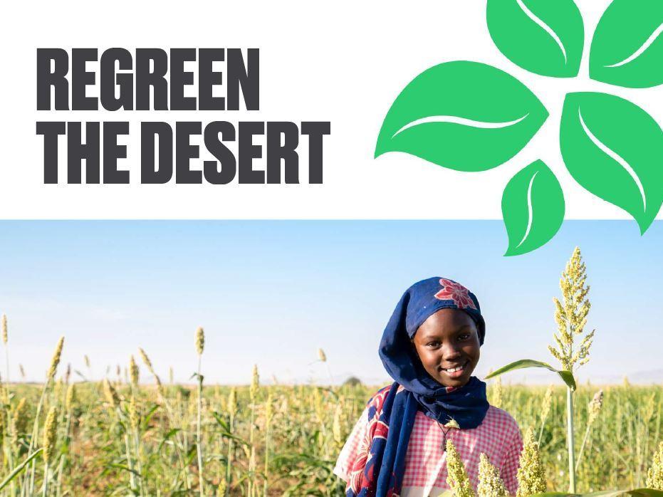 Regreen the desert