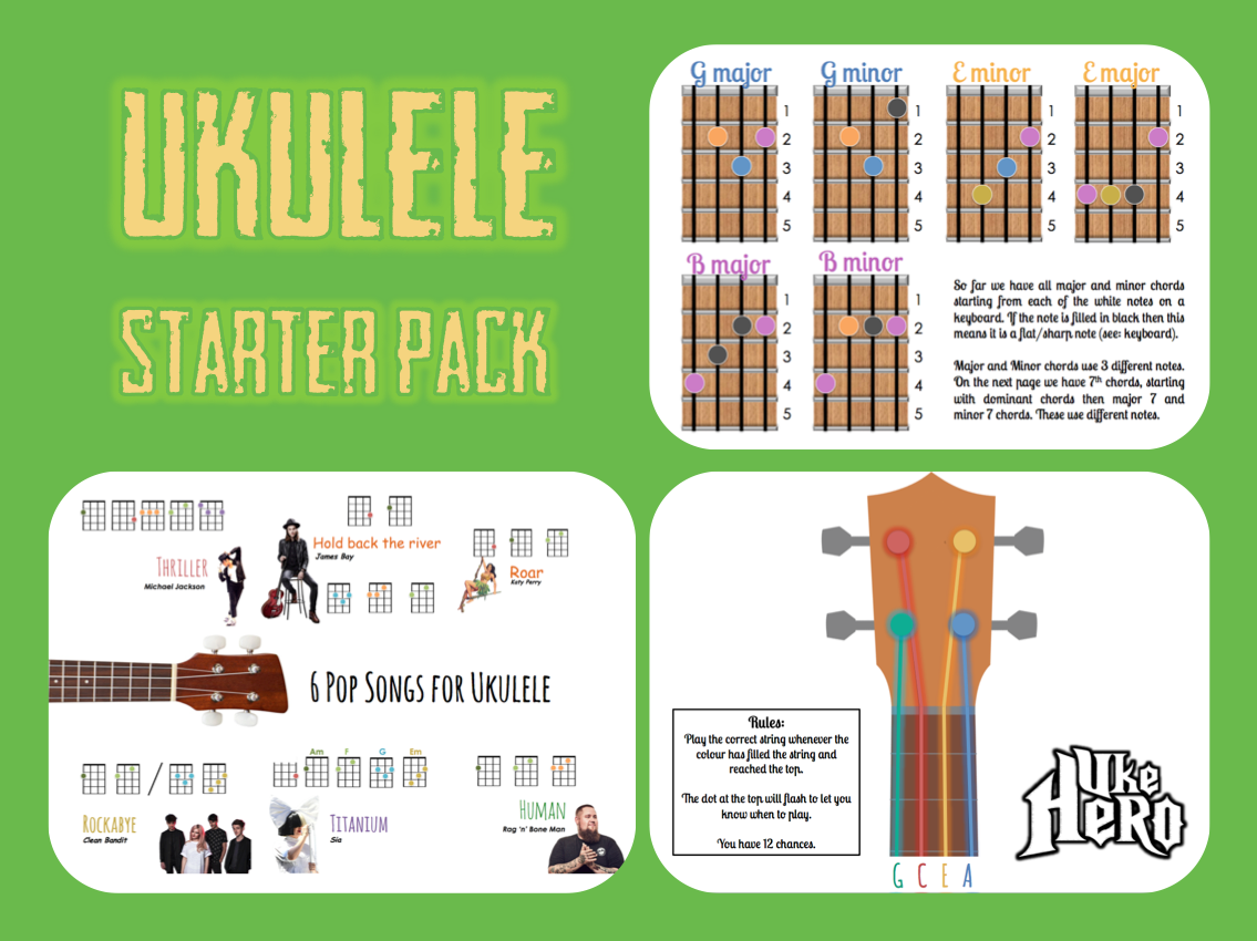 Ukulele Starter Pack (Bundle)