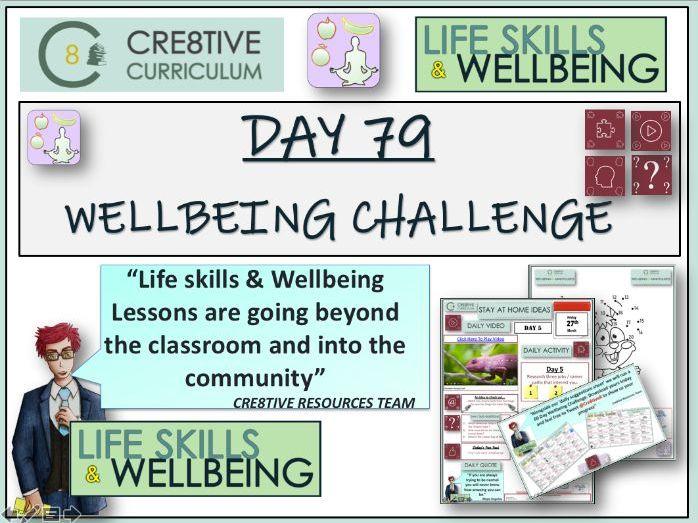 Wellbeing Activities Challenge PSHE