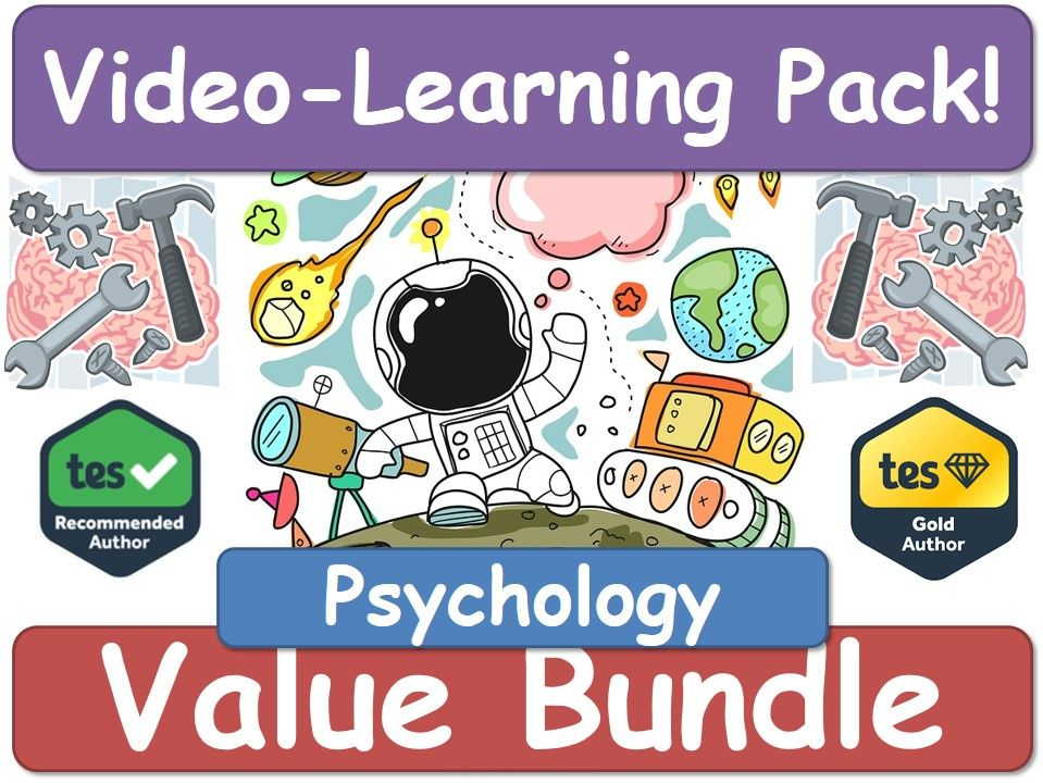 Psychology! Psychology! Psychology! [Video Learning Pack]