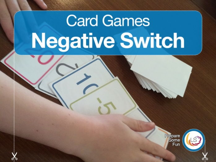 Negative Switch Card Game