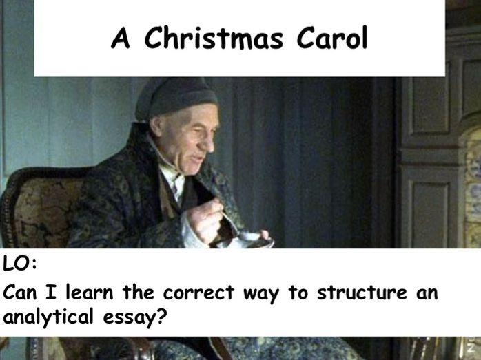 Essay Writing - Christmas Carol