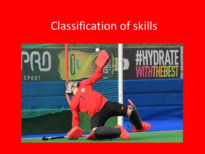 PE GCSE Sports Psychology (Classification of Skill)