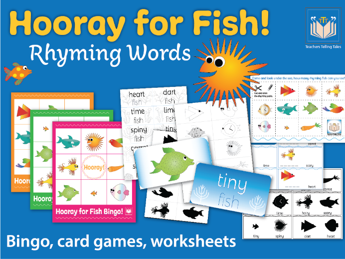 Hooray for Fish Rhyming Words
