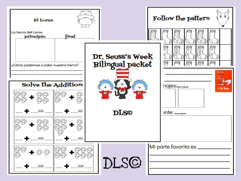 Dr. Seuss's Bilingual Packet