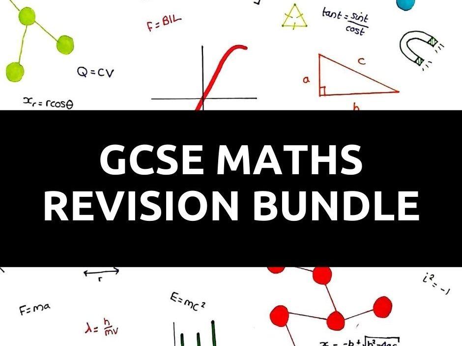 GCSE Maths Topic Questions Bundle