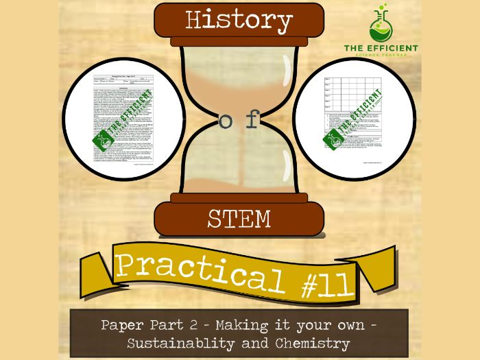 Paper (Part 2) - History of STEM practicals - Make it your own - Sustainability