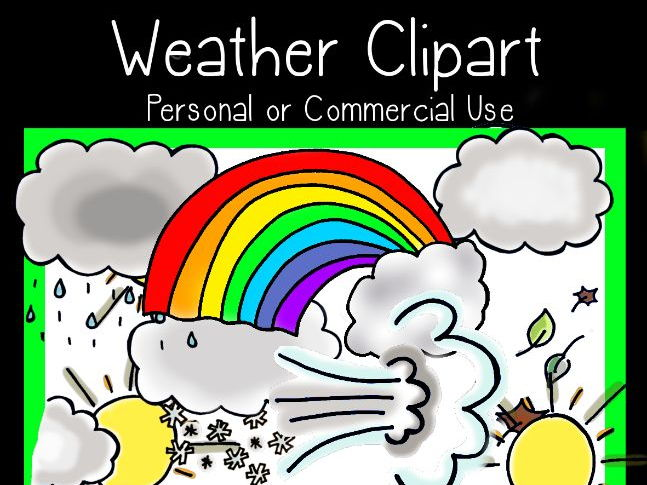 Weather Clipart - personal or commercial use