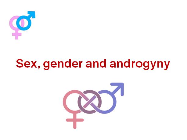 Gender- Sex, gender & androgyny, role of chromosomes and hormones