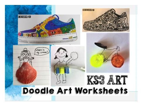 KS3 Doodle Art Unit 7 Worksheets