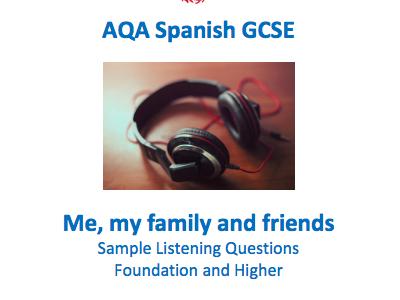 Spanish GCSE Listening - Identity and Culture