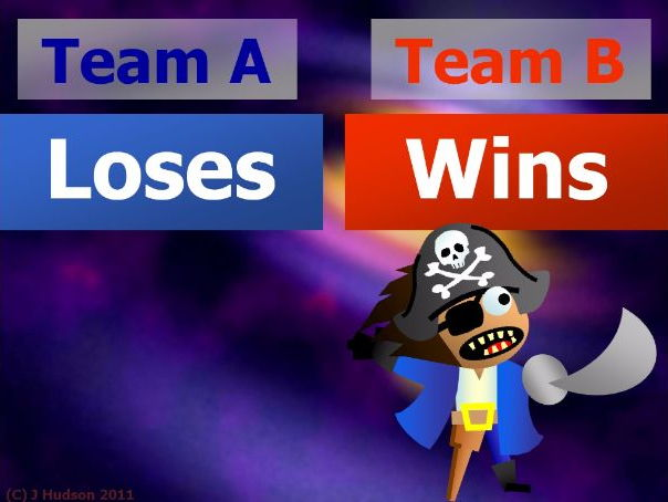 Two Team IWB Quiz Game Creator