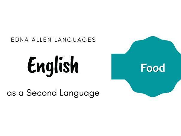 ESL Describing Food
